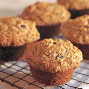Honey Raisin Bran Muffins