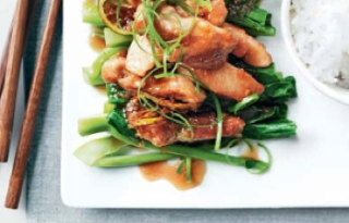 sticky honey and lime chicken
