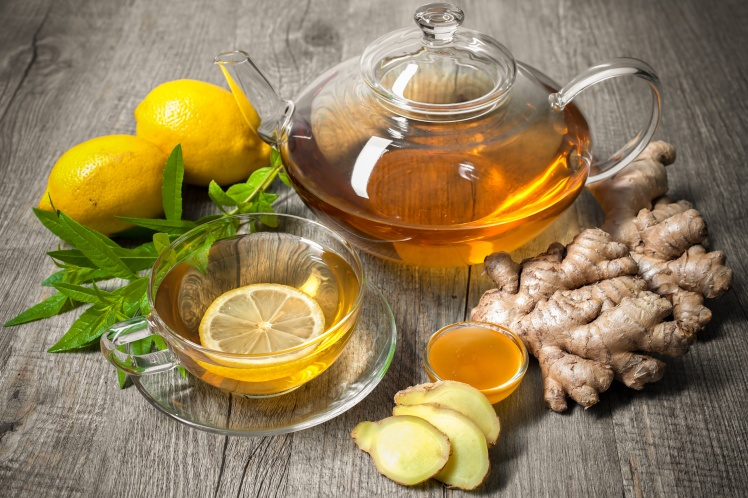 Manuka Honey Lemon Ginger Tea
