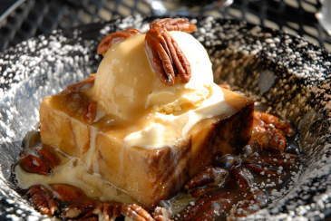 HoneyDew Bread Pudding