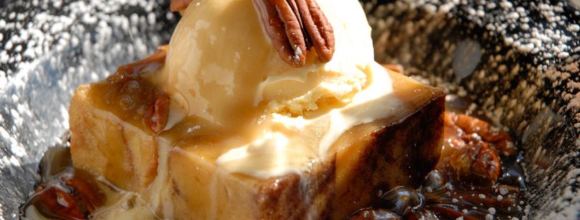 HoneyDew Bread Pudding