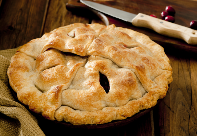 Honey Apple Pie with Thyme