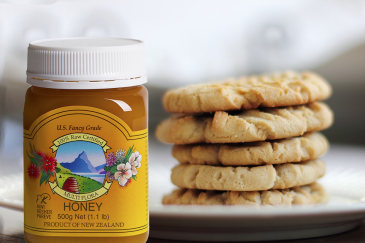 Multiflora Honey Cookies