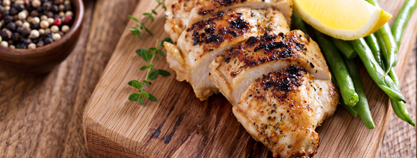 Mesquite-Seasoned Baked Chicken