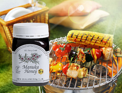 Honey Up Your Summer Grilling Tips
