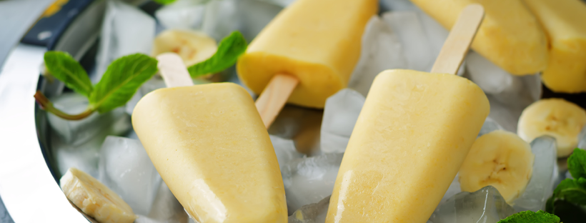 Tawari Honey Banana Popsicles
