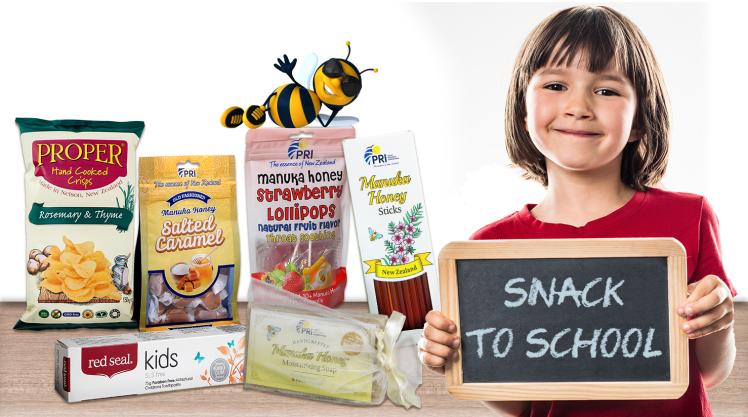 Snack to school with ShopPRI