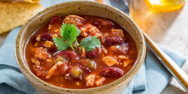 Vegetarian Chili with Honey