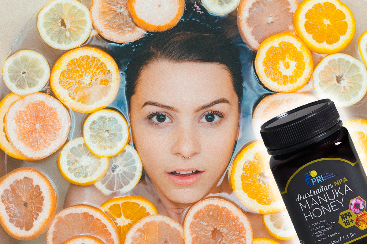 DIY Beauty Hacks with Manuka Honey and Lemon