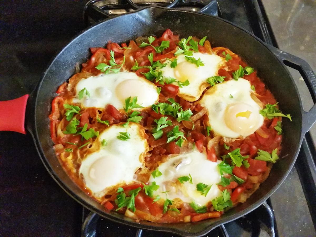 Shakshuka _ Mediterranean Dish