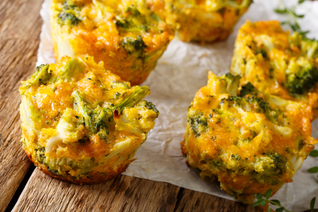 Broccoli Tots with Chipotle Manuka Sauce