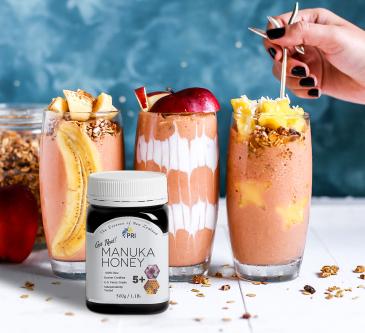 Manuka Honey Smoothies for 2019