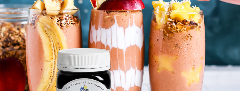 Manuka Honey Smoothies for 2019