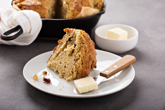 Soda Bread with Manuka Honey Butter